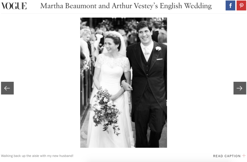 Martha and Arthur Vestey