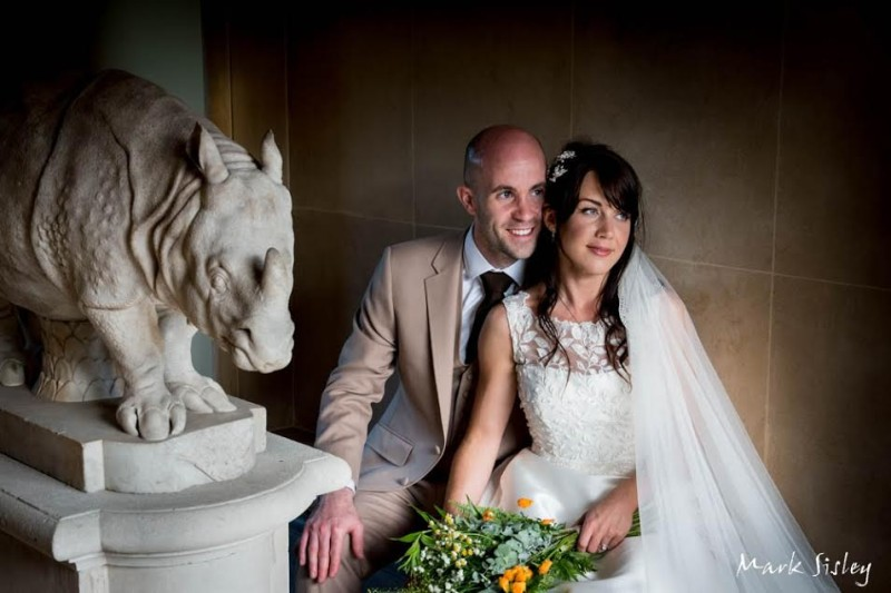 waddesdon manor wedding hair and makeup 3