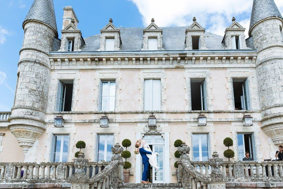 wedding hair and makeup Chateau De La Goujonnerie 4