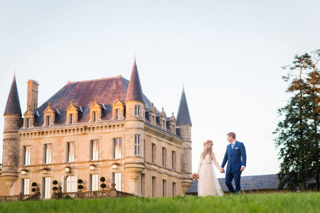 wedding hair and makeup la rochelle Chateau De La Goujonnerie