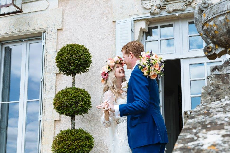 wedding hair and makeup la rochelle Chateau De La Goujonnerie 14