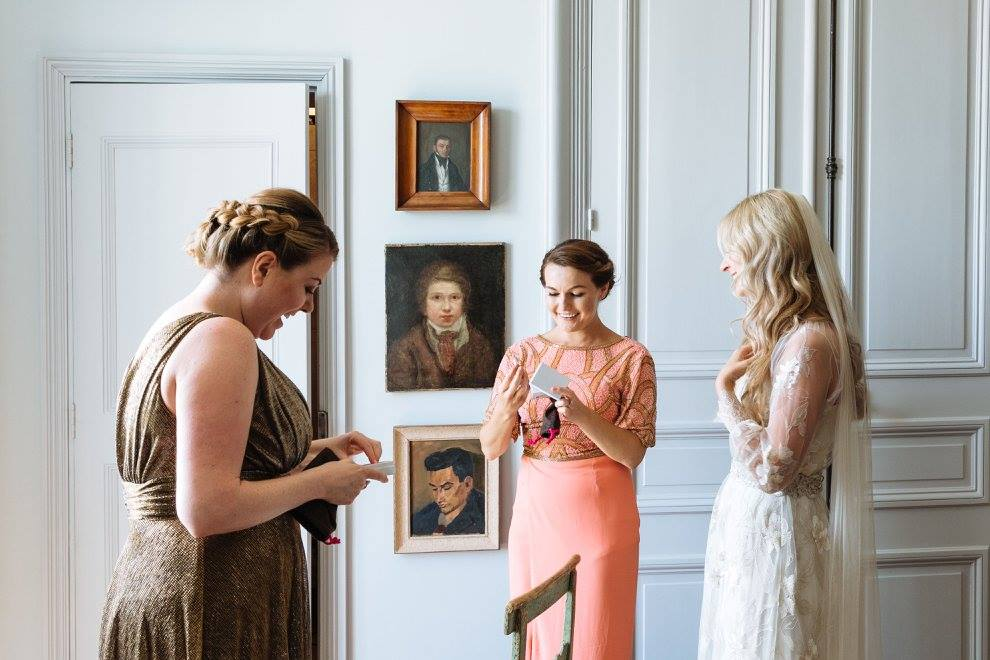 wedding hair and makeup la rochelle Chateau De La Goujonnerie 17