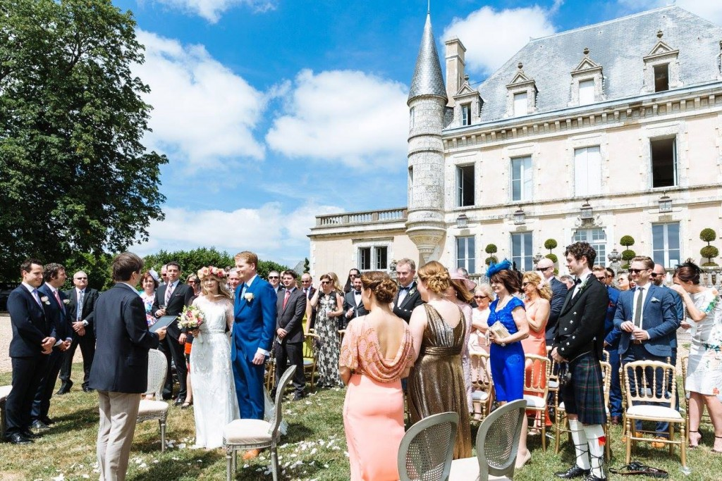 wedding hair and makeup la rochelle Chateau De La Goujonnerie 3