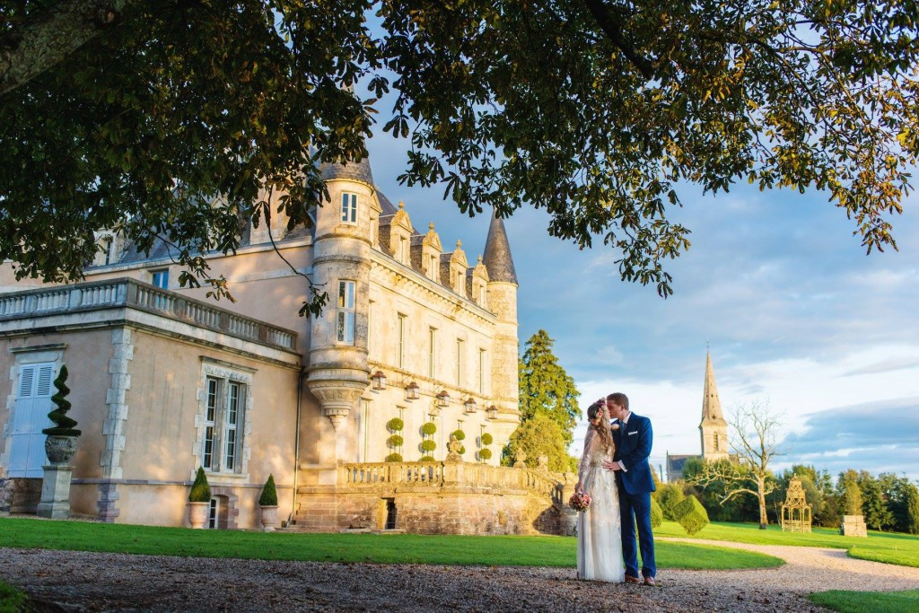 wedding hair and makeup la rochelle Chateau De La Goujonnerie 6