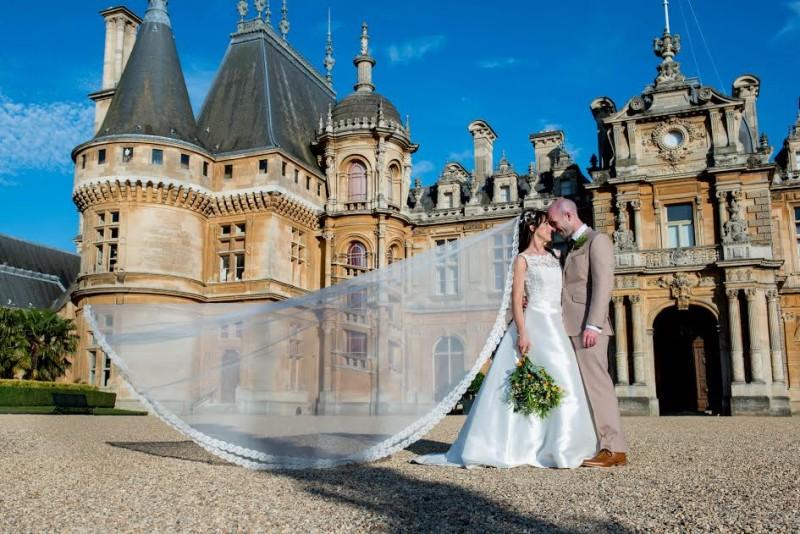wedding hair and makeup waddesdon manor 5