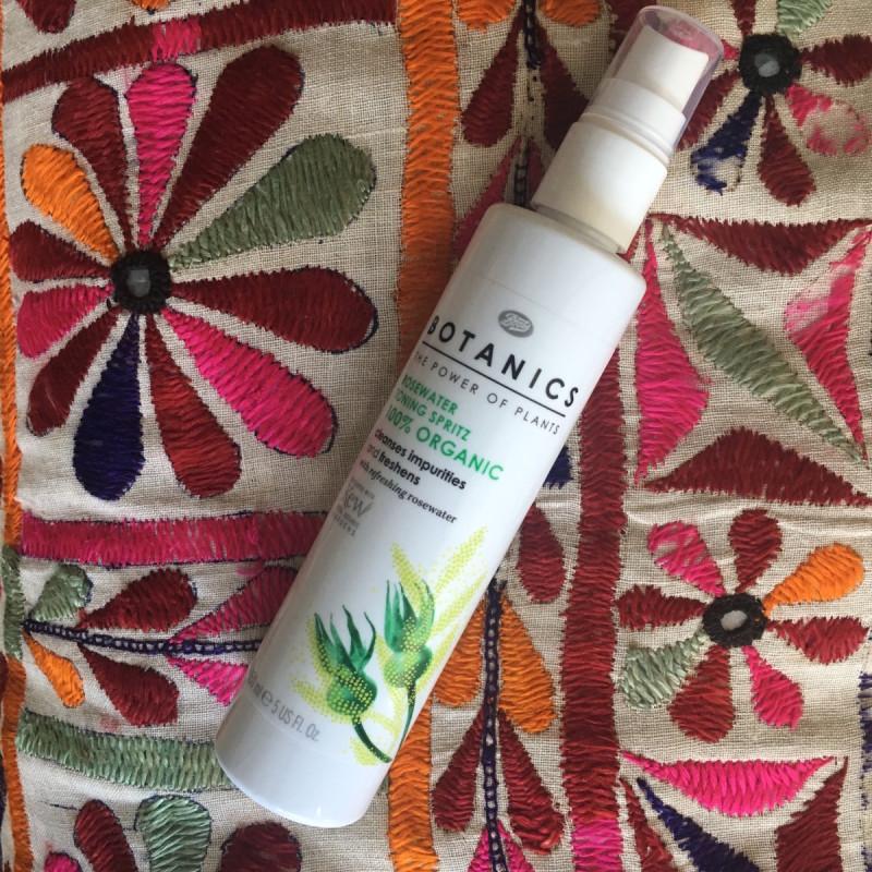 Boots Botanics Rosewater Toning Spritz review