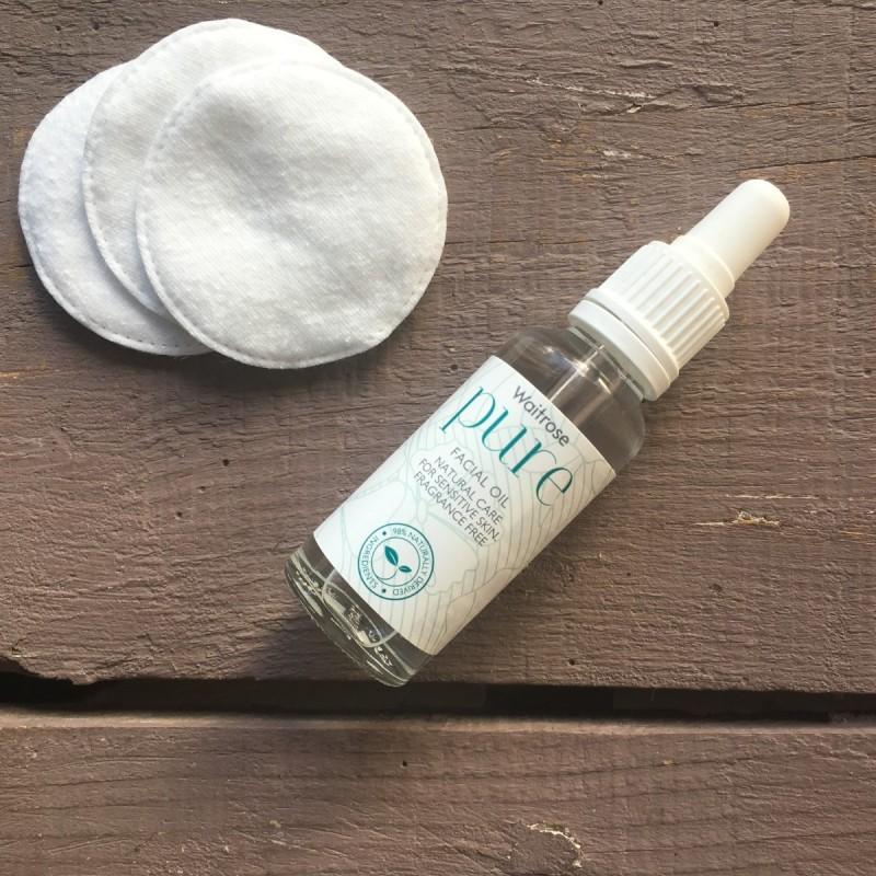 Waitrose face oil