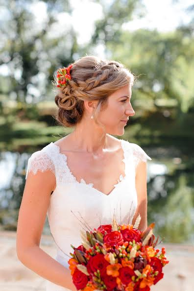 cotswolds wedding hair