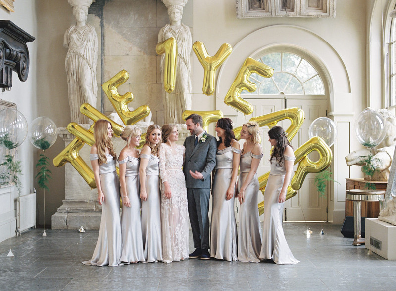 golden aynhoe park wedding