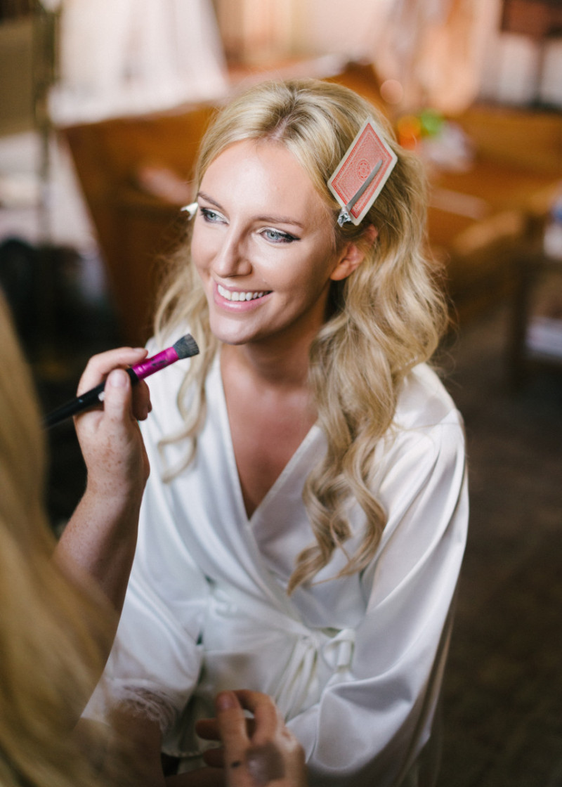 Loire Valley Wedding Makeup