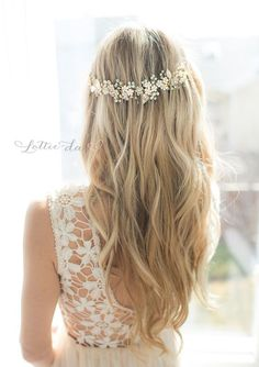 hair down for brides