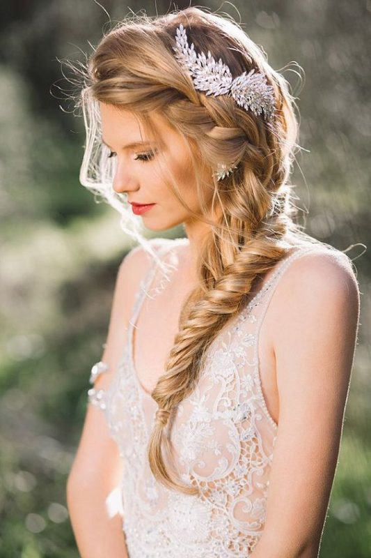 chignons for brides