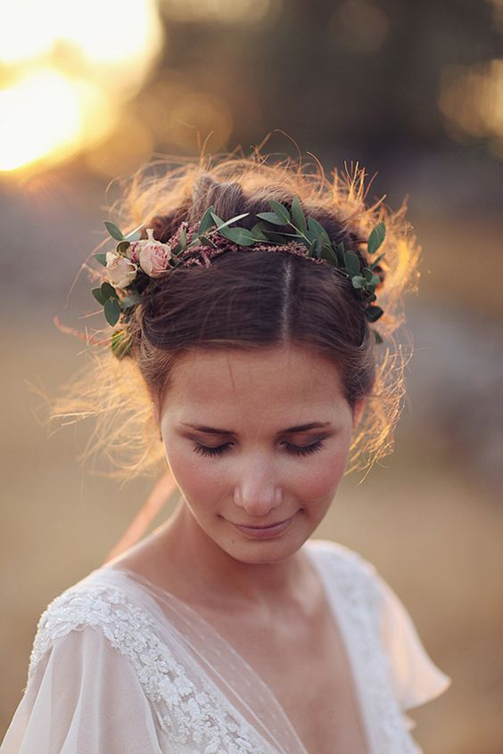 Flower crowns for weddings Bridal Inspiration By Jodie