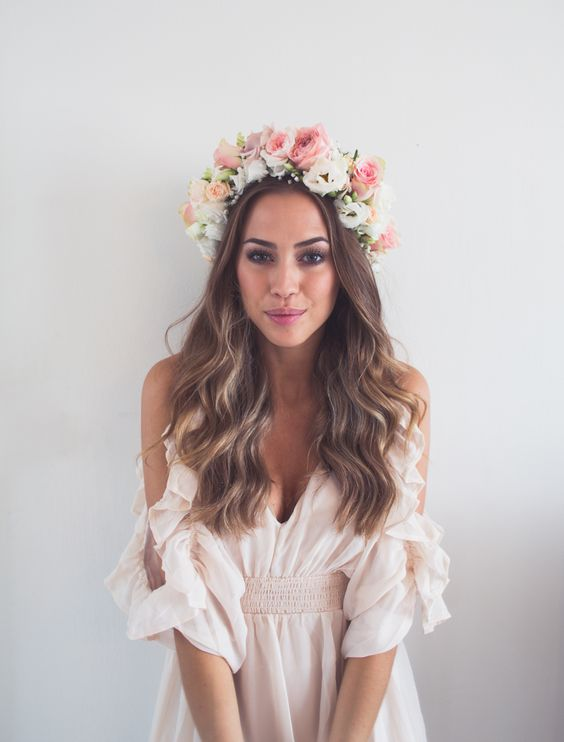 FLOWER crowns for weddings
