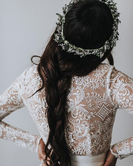 FLOWER crowns for weddings