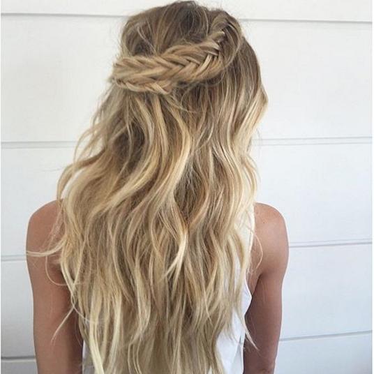 Half Up Half Down Wedding Hairstyle Inspiration: Half Up Half Down Styles For Brides