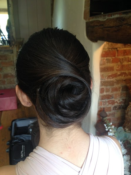 London bridal hair.