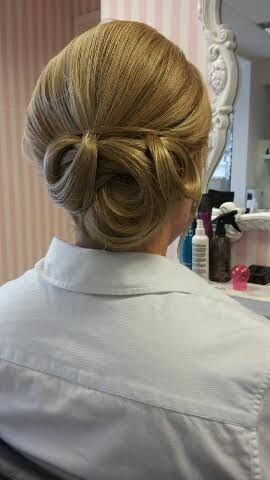 Gloucestershire Wedding Hair.