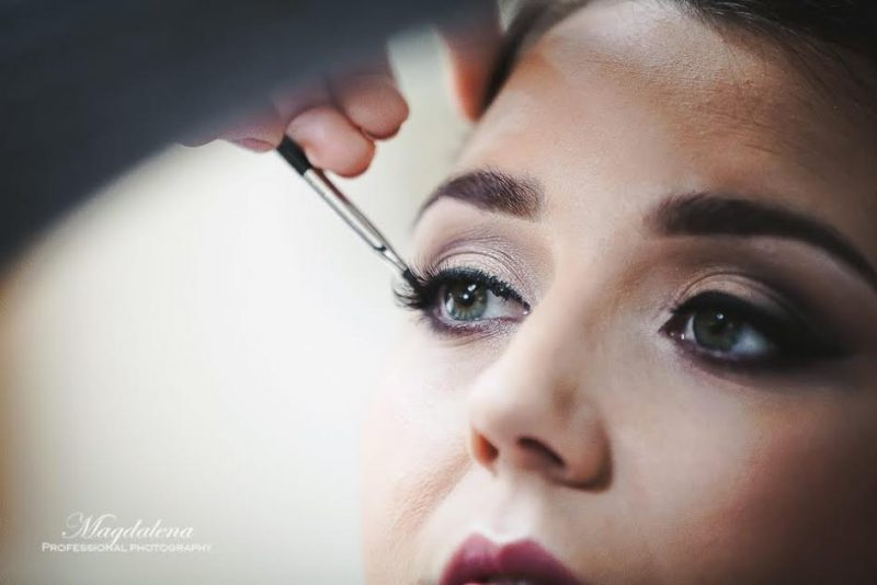 Cotswolds Wedding Makeup.