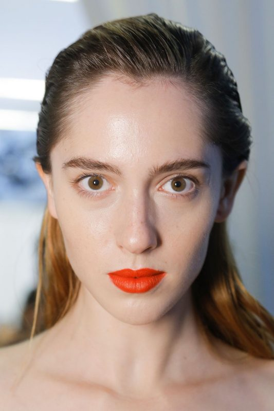 bright lips for brides