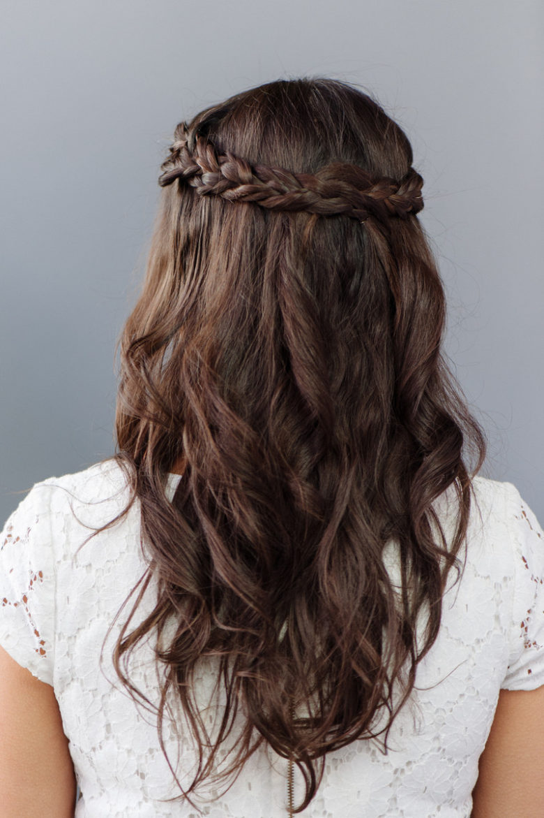 plaits for brides + bridesmaids | wedding hair inspiration | by jodie