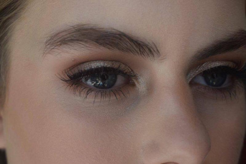 A macro shot of eye makeup by Solihull Makeup Artist