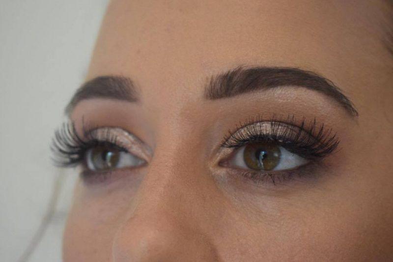 A closeup shot of eye makeup by Solihull Makeup Artist