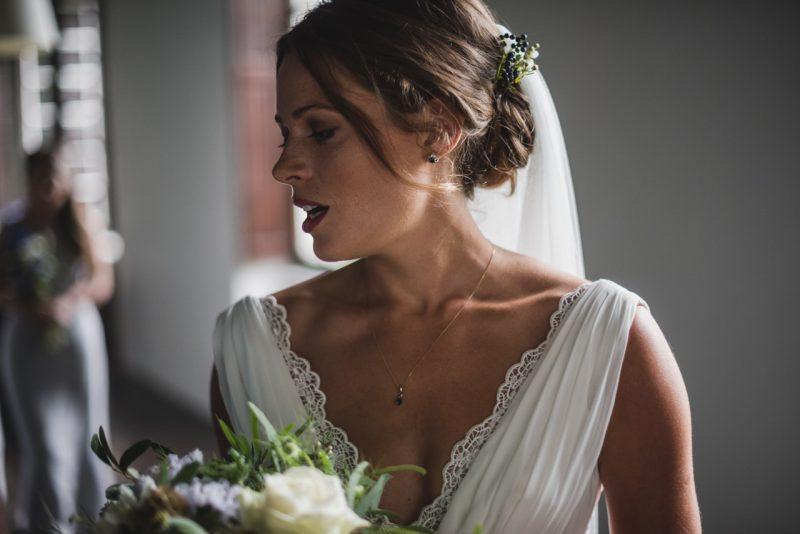 Bordeaux wedding makeup