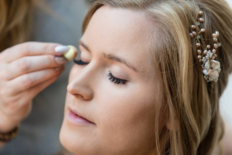 Hampshire wedding makeup