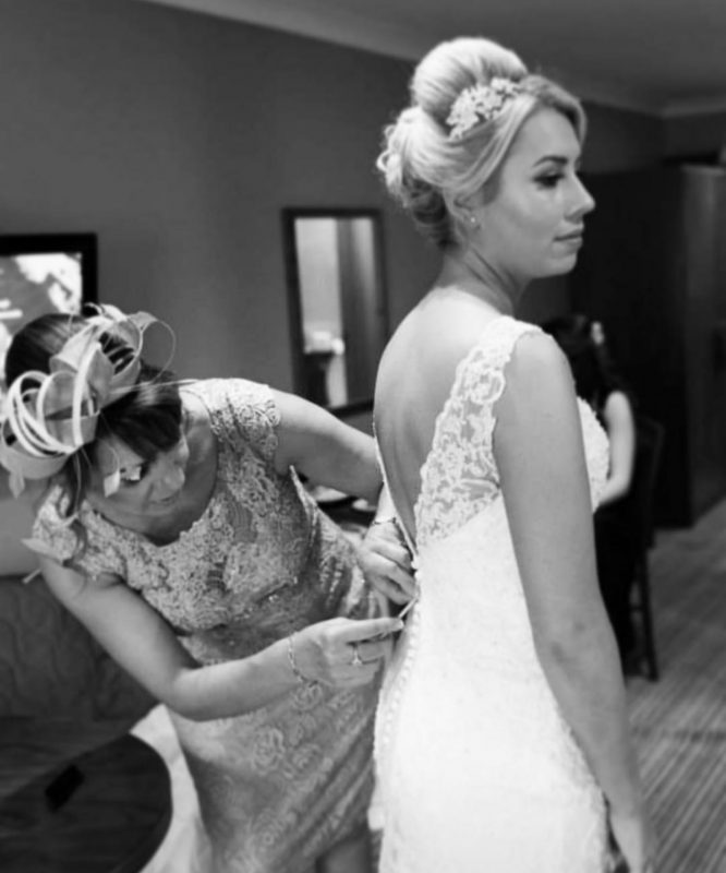 Surrey Bridal hair