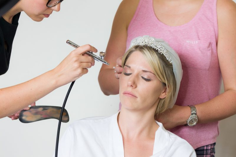 Suffolk wedding makeup