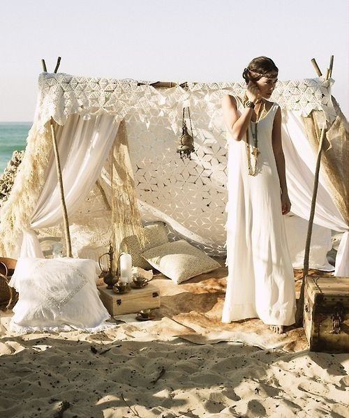 Ibiza bohemian wedding
