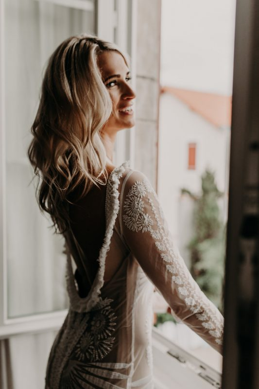 biarritz wedding hair and makeup