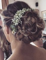 Windsor wedding hair