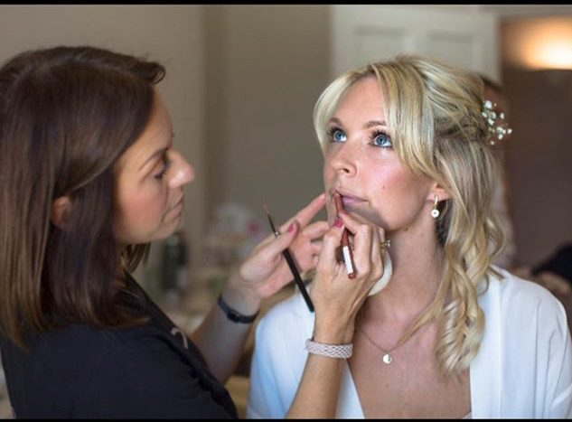 St Alban's wedding hair and makeup