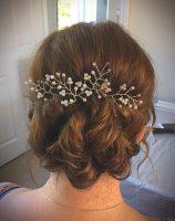 Mobile wedding hair Birmingham.