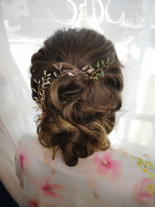 kent wedding hair and makeup