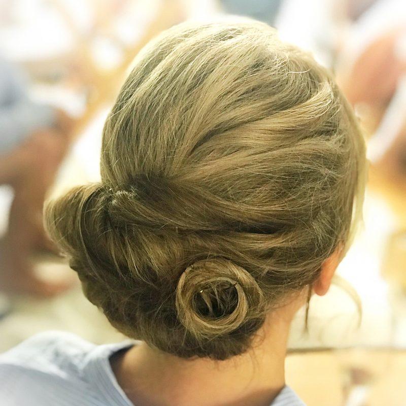 London bridal hair