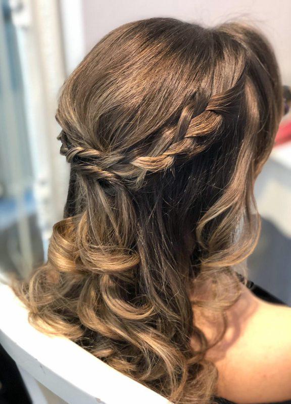kent wedding hair and makeup
