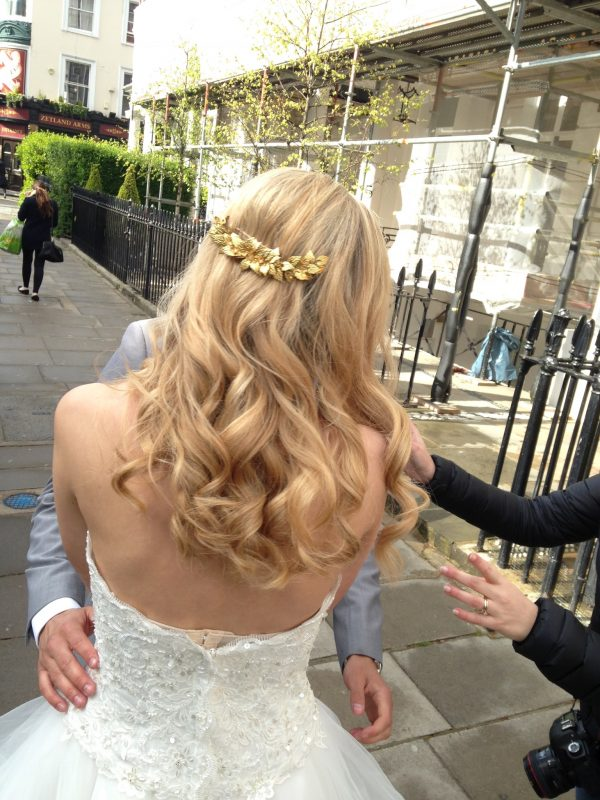 Farnham wedding hair and makeup artist