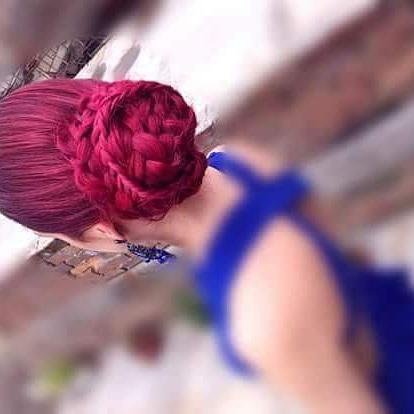 Herefordshire wedding hair