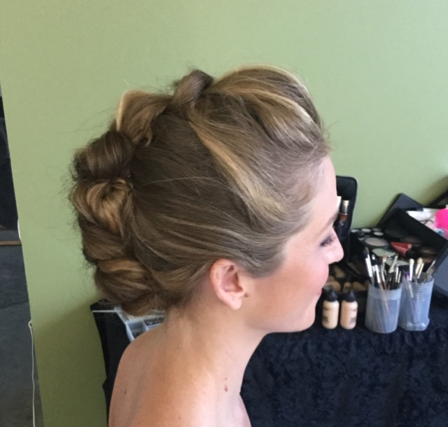 wedding hair and makeup st tropez